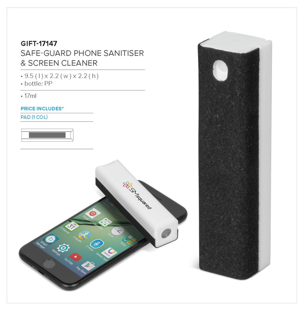 Safe-Guard Phone Sanitiser & Screen Cleaner