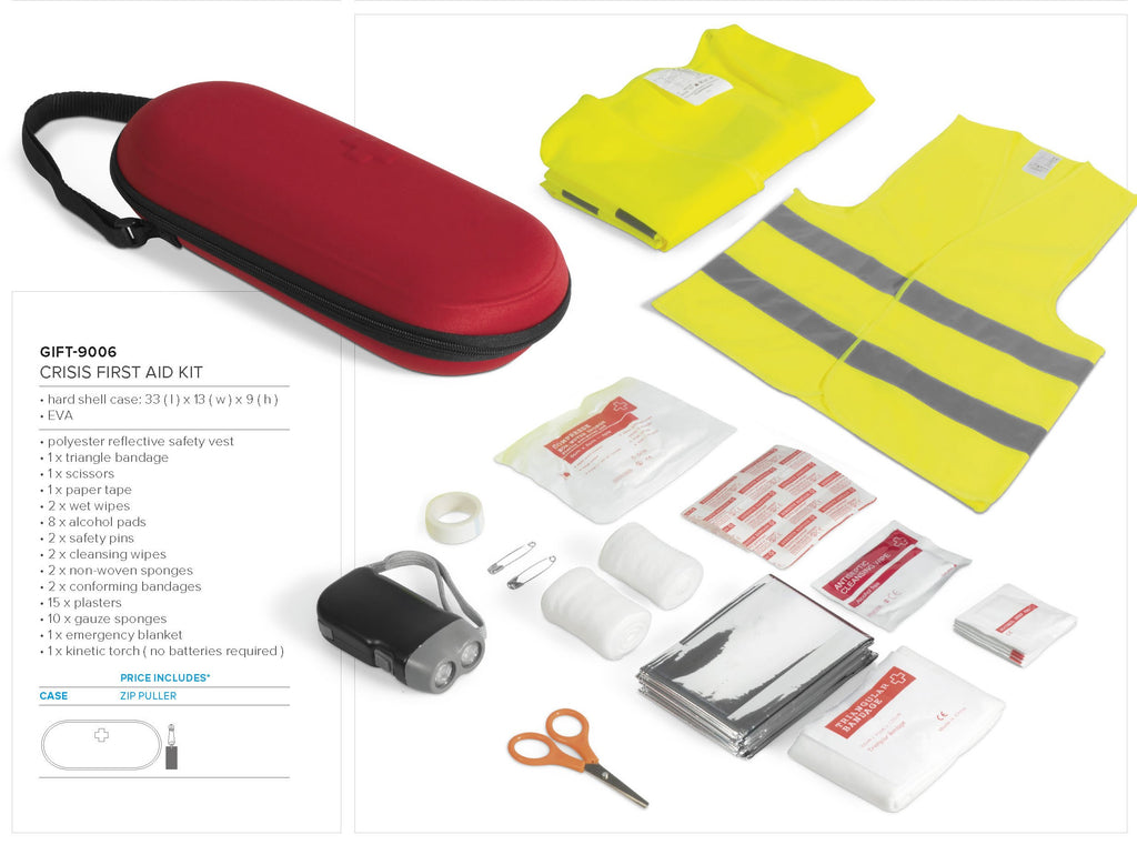 Crisis First Aid Kit
