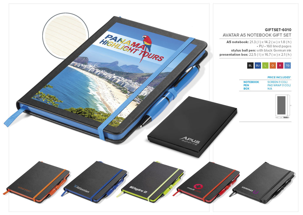Avatar A5 Notebook Gift Set