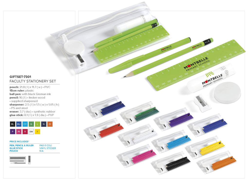 Faculty Stationery Set