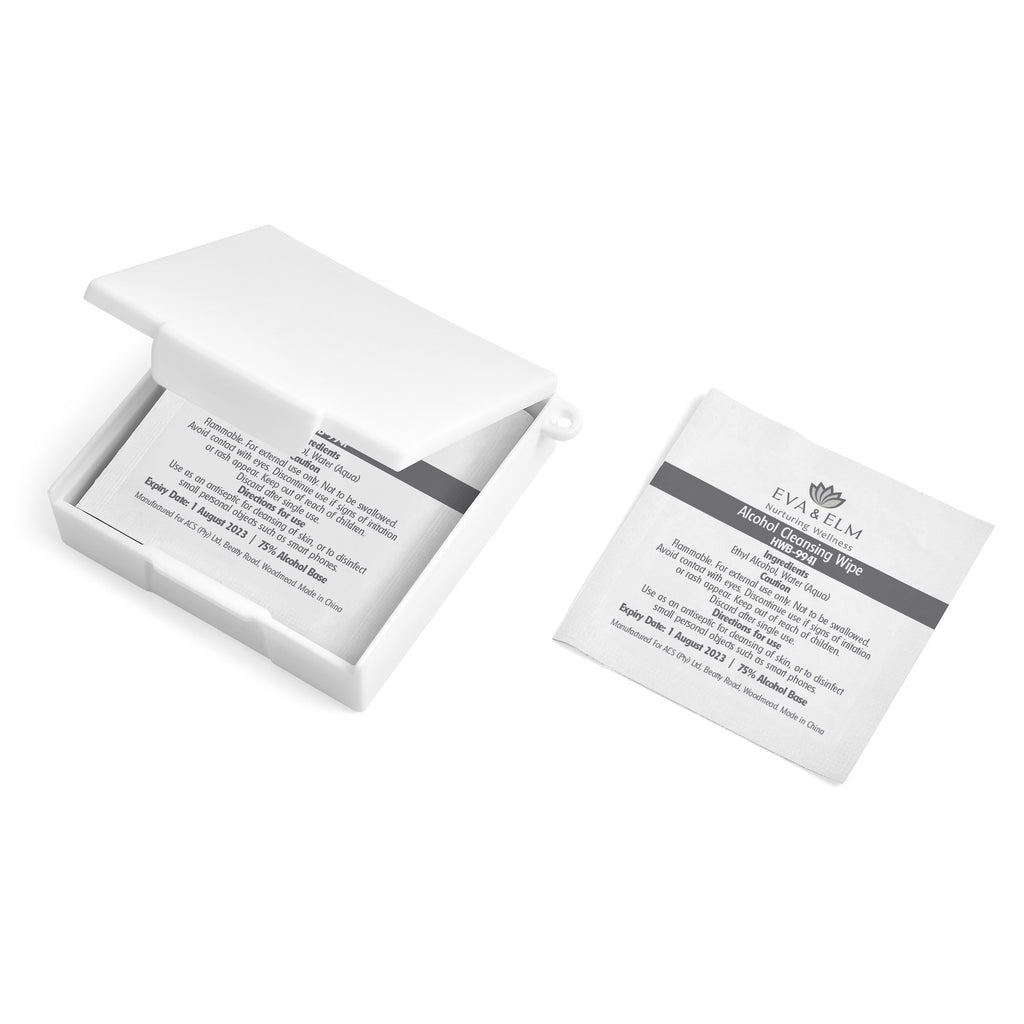 Eva & Elm Cadoc Mini Sanitiser Pads Box