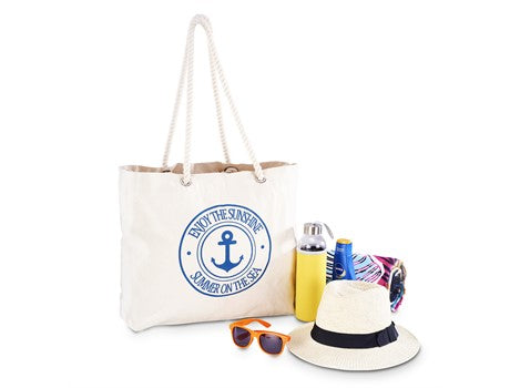 Paradise Cotton Beach Bag