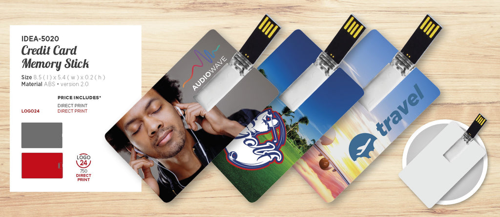 Credit Card Memory Stick -