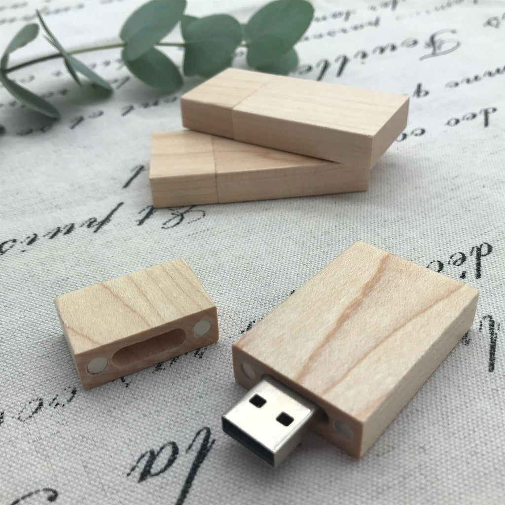Maple Wood usb. wooden usb. custom stationery