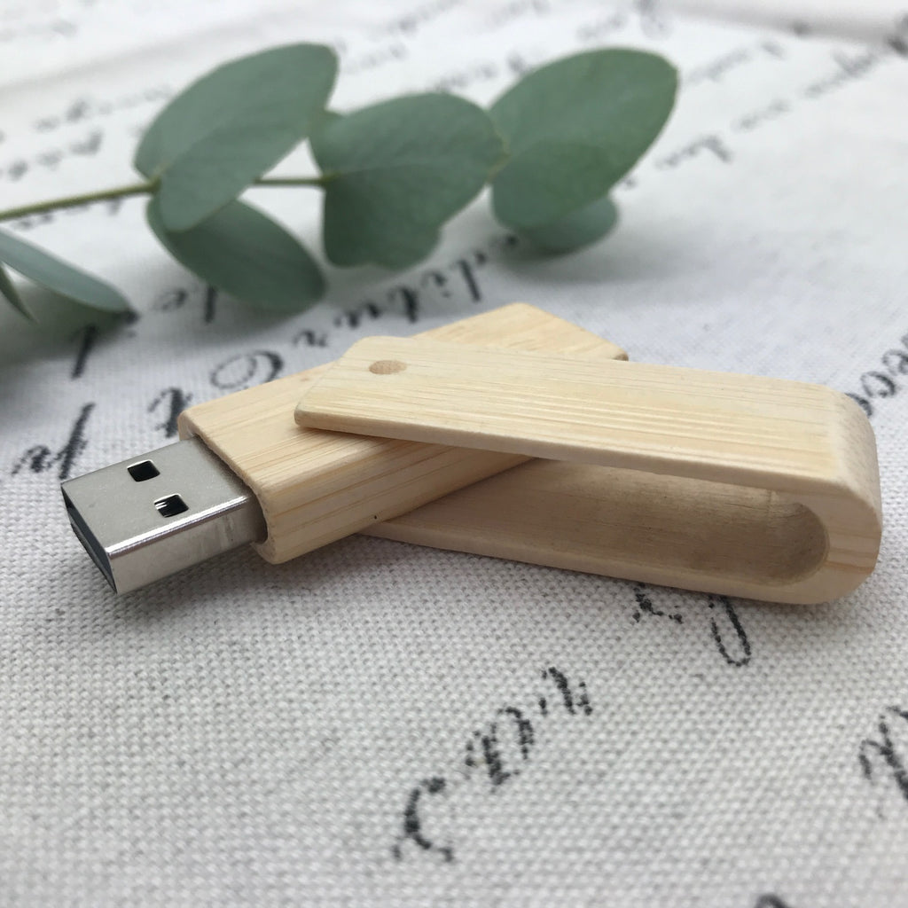 Bamboo Twister USB. Bamboo Twister Flash Drive.