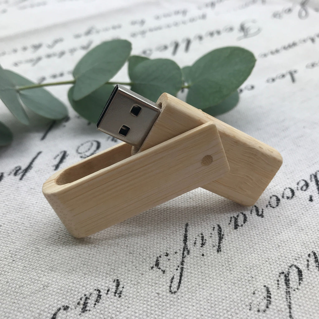 Bamboo twister Flash Drive.