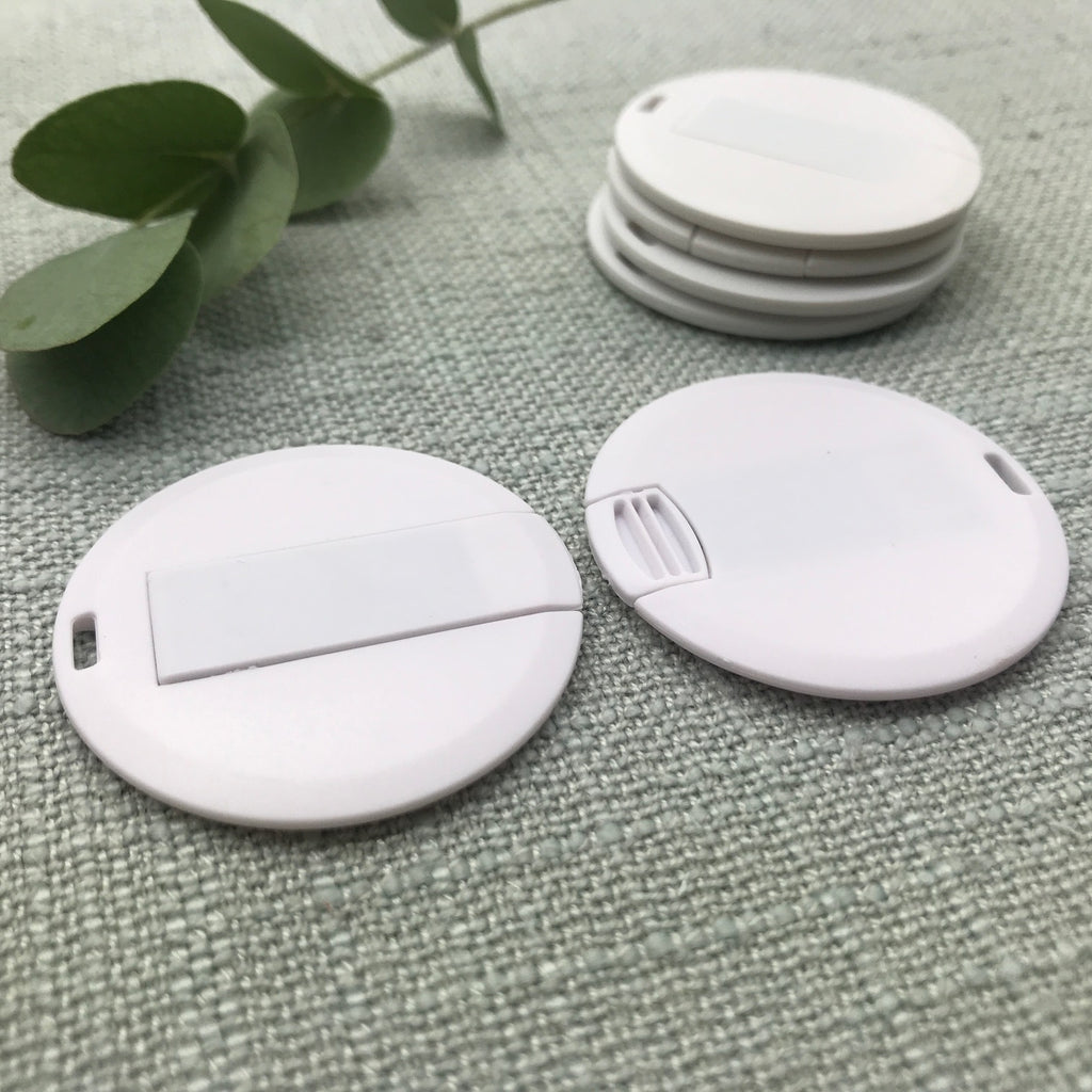 round wafer flash drive