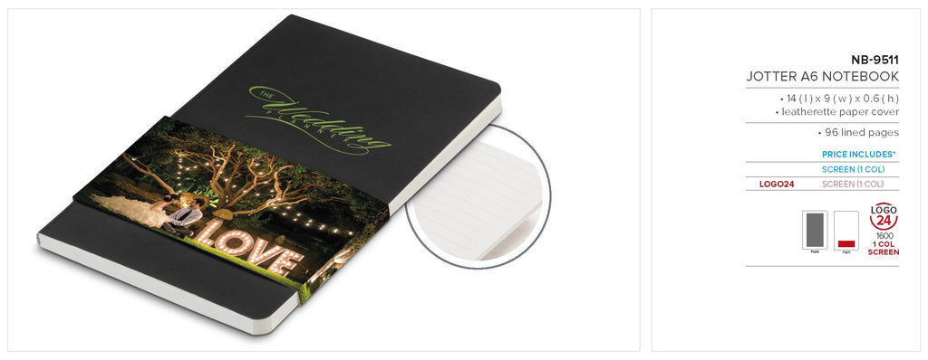 Jotter A6 Notebook -  Only