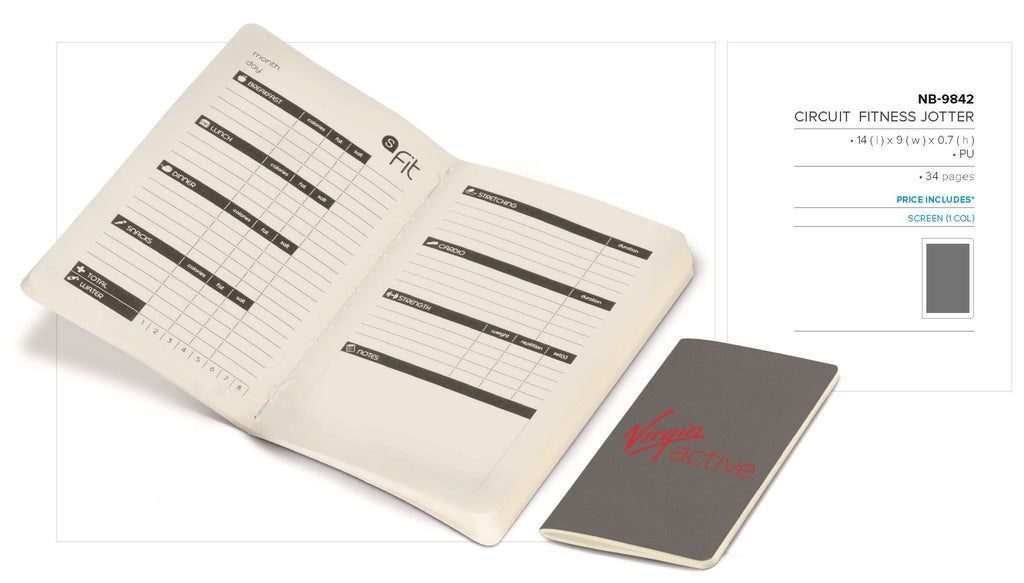 Circuit Fitness Jotter