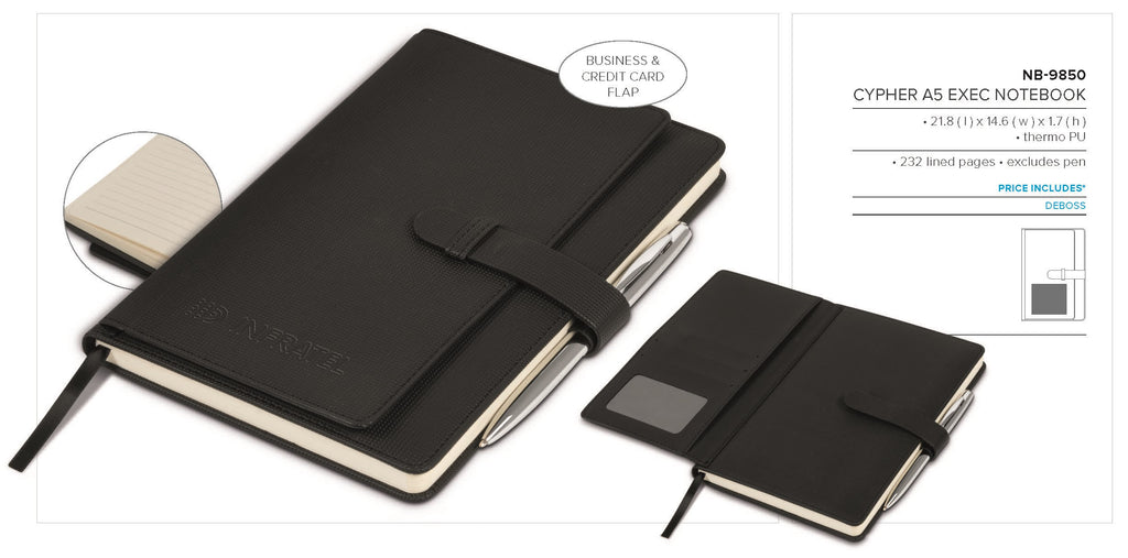 Cypher A5 Exec Notebook