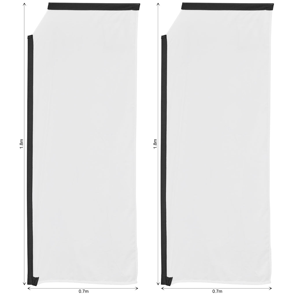 Legend 2m Telescopic Flying Banner Skin (Set of 2)