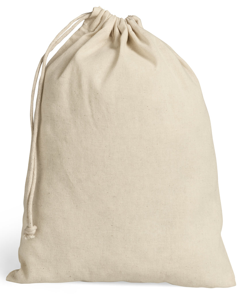 Cotton bag, cotton drawstring bag, natural bag. cotton tote