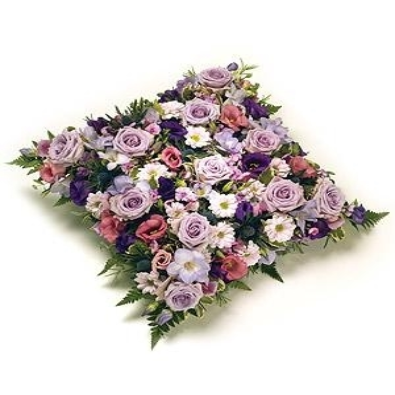 Elea - Funeral  Cushion of Lilac  and vintage pink