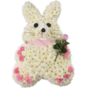 Rabbit - Family Flowers Tribute