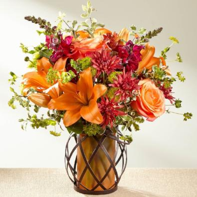 Tilly - Red & Orange Bouquet.