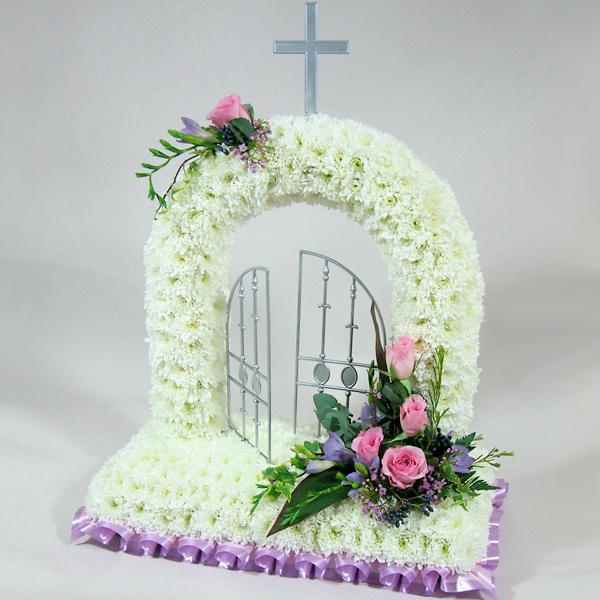 Gates of Heaven - Family Flowers Tribute