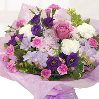 Kempshott - Purple & Pink - Vintage Bouquet.