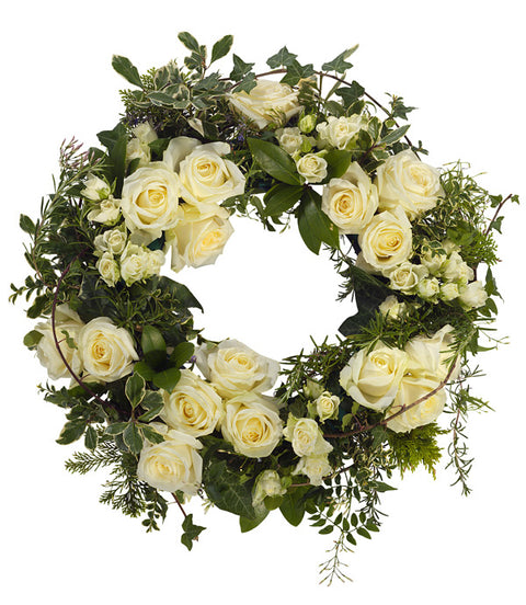 Claudia - Rose and Lily Luxury Wreath