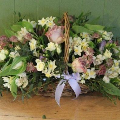 Beauworth - Funeral Basket Arrangement