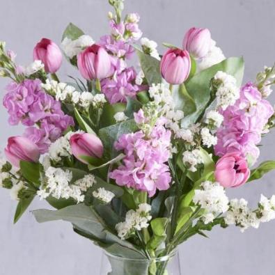 Killy - Lilac, Cream & Pink Bouquet.