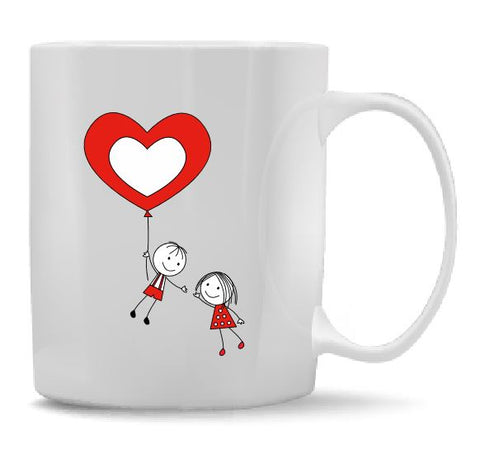 Float Away Heart Mug