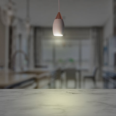 Almond Tiny Led Hanging Light
