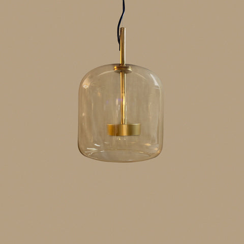 Amber Fall Led Pendant Light lamp