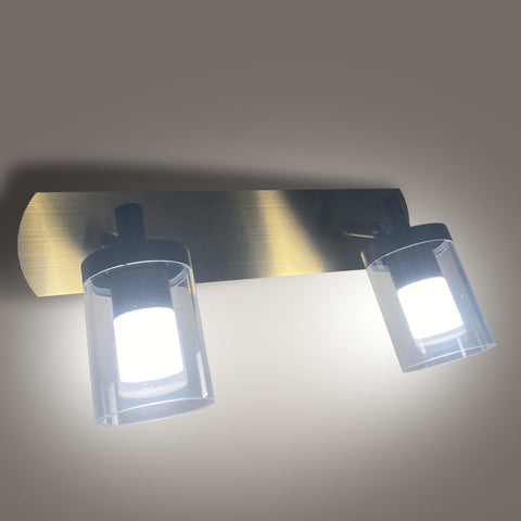 Aqua Double LED Mirror Light India