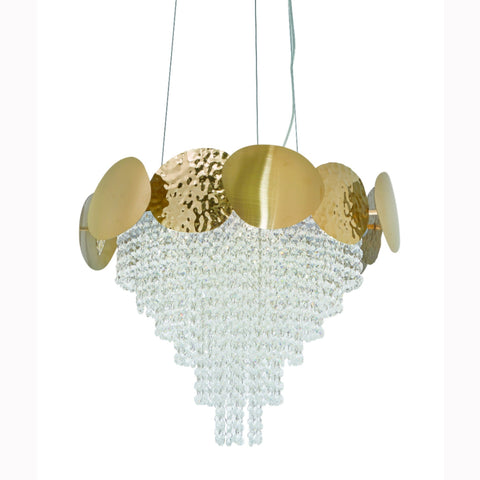 Beautiful Droplet Crystal Chandelier India