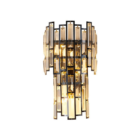 Black Bang Crystal Wall Light Bangalore