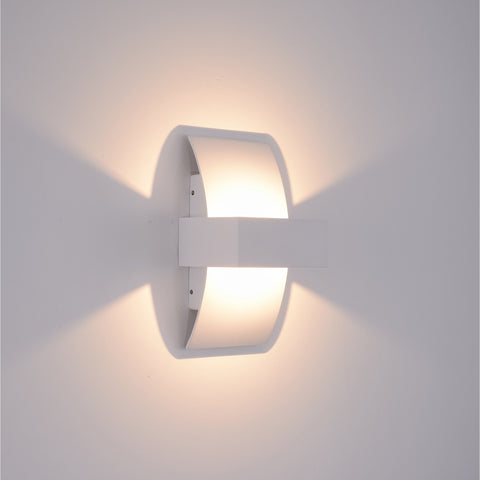 Brase LED White Wall Lamp India