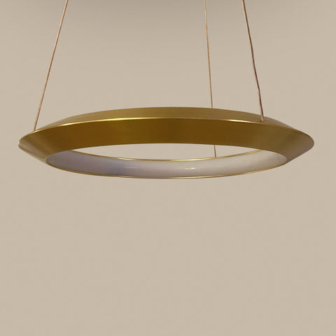 Curved Ring LED Chandelier