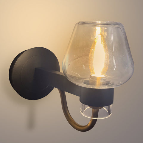 Buy Glass Bowl Wall Light