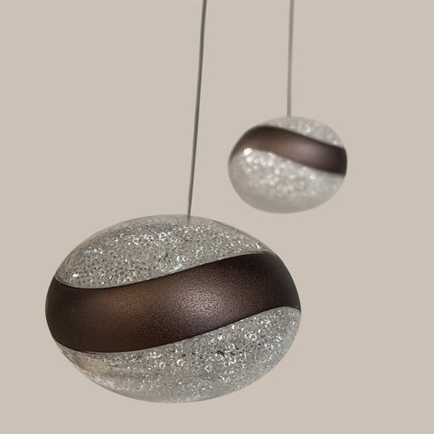 Buy Oval Crystal Drop Light