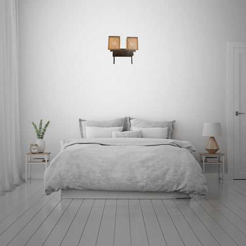 Ceramic Double Wall Light