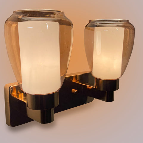 Champagne Glass Double Wall Light India