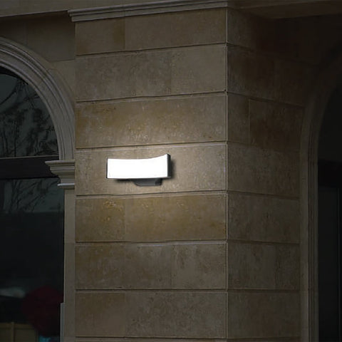 Curved LED Outdoor Wall Light India