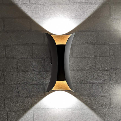 Daise White Gold Wall Light Shop