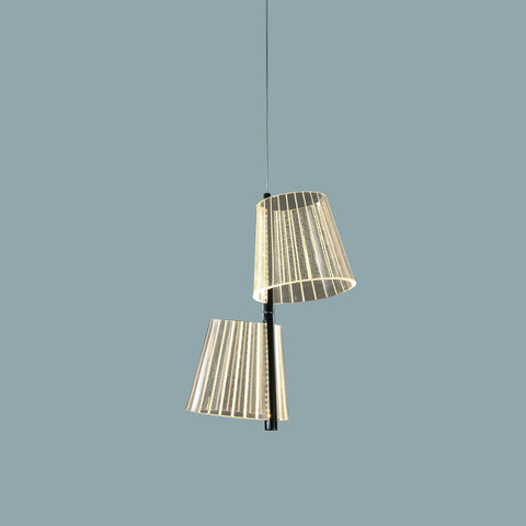 Double Acrylic Pendant Light India