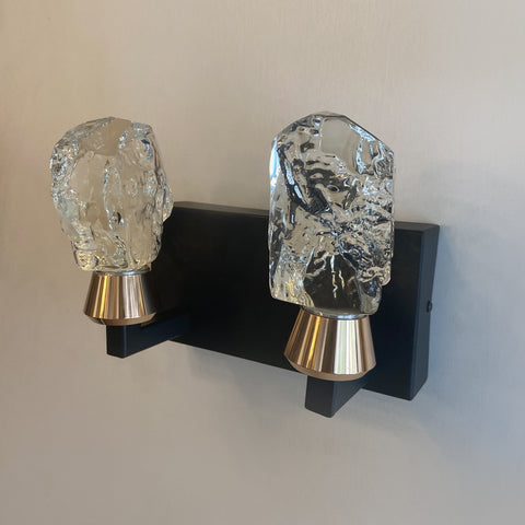 Double Citrine Wall Light India