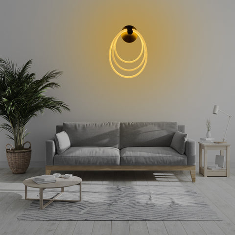 Eternity Rings LED Wall Light  Store