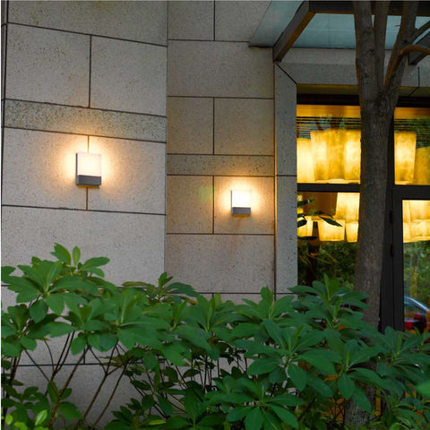 Flat LED Outdoor Wall Light Shop