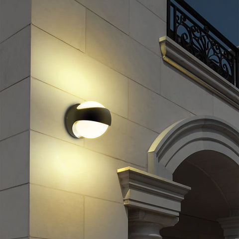 Globe LED Outdoor Wall Light Shop