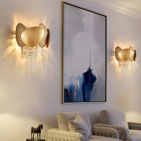 Gold Beauty Wall Light India