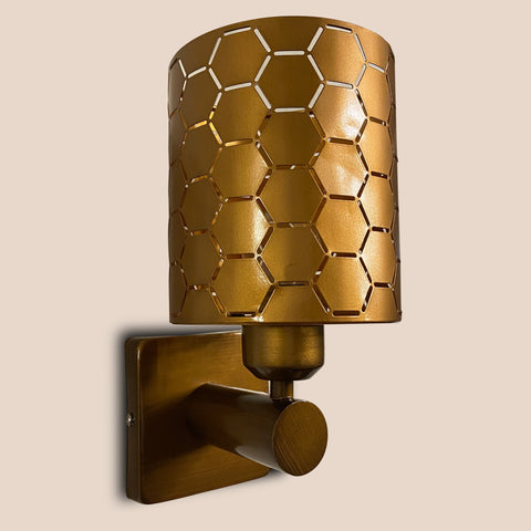 Hexagon Single Wall Light India