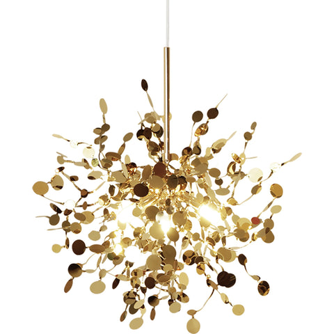Incredible Gold Twisted Pendant Lamp Shop