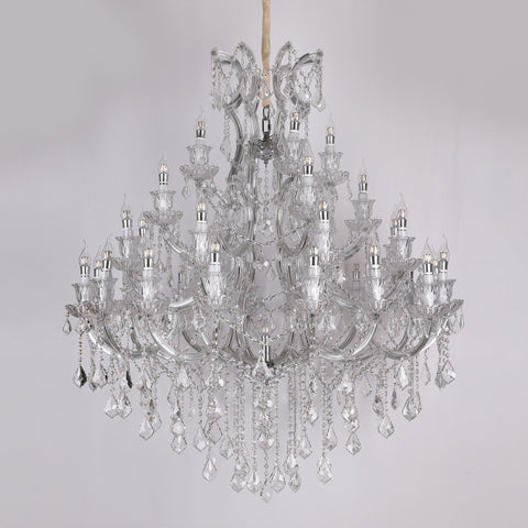 Iris 32 light crystal chandelier Bangalore