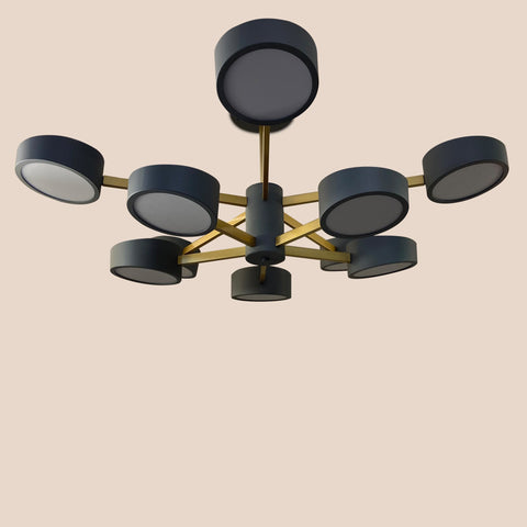 Ironblades LED Chandelier India