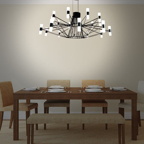 Ironwire LED Chandelier Bangalore