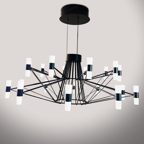 Ironwire LED Chandelier